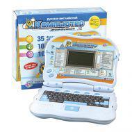 Компьютер 7000/115873 русско-английский, обучающий, на батарейках, в коробке 28*22см JOY TOY