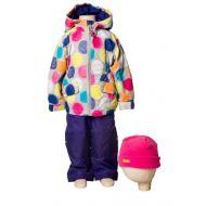 Костюм (куртка, брюки, жакет, шапка) для девочки