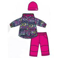 Костюм (куртка, брюки, шапка) для девочки