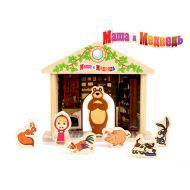 Игра-логика GT5948 Маша и Медведь дерево ТМ Маша и Медведь