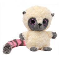 Мягкая игрушка Юху и его друзья 65-200 Лемур Юху розовый, 20 см