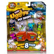 Игрушка UGGLYS PET SHOP 19409 Аглис Пет Шоп Фигурка 8 штук в наборе