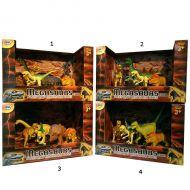 Игровой набор  Megasaurs SV12926 Мегазавры 5 динозавров + дерево, в асс-е