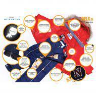 ELSA Комплект зимний пуховый (куртка+полукомбинезон)
