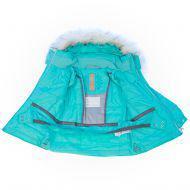 Куртка зимняя с искусственным мехом