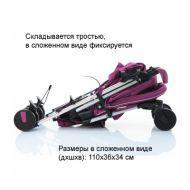 Коляска-трость Asalvo Moma Petrol 152000