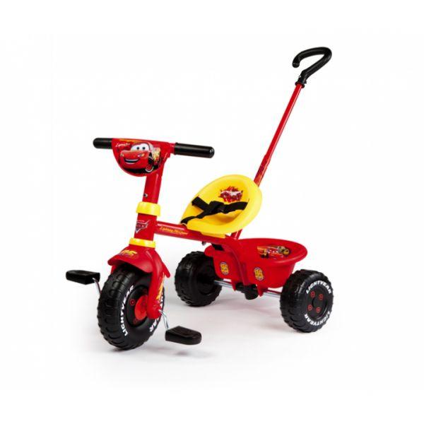 Трехколесный велосипед из серии Cars 444147 Smoby