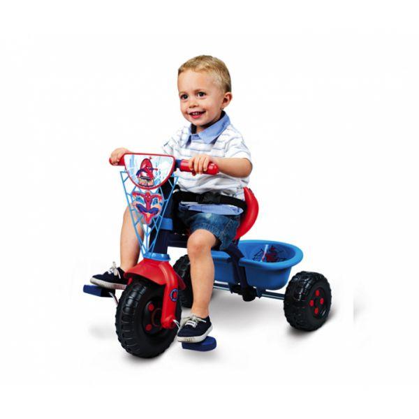 Трёхколёсный велосипед из серии 'Человек-паук' 444168 Smoby