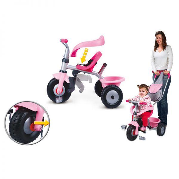 Трехколесный велосипед с сумкой 444141 Smoby