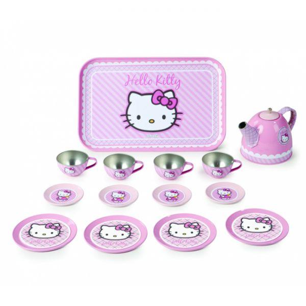 Набор посудки металлический, Hello Kitty 24783 Smoby