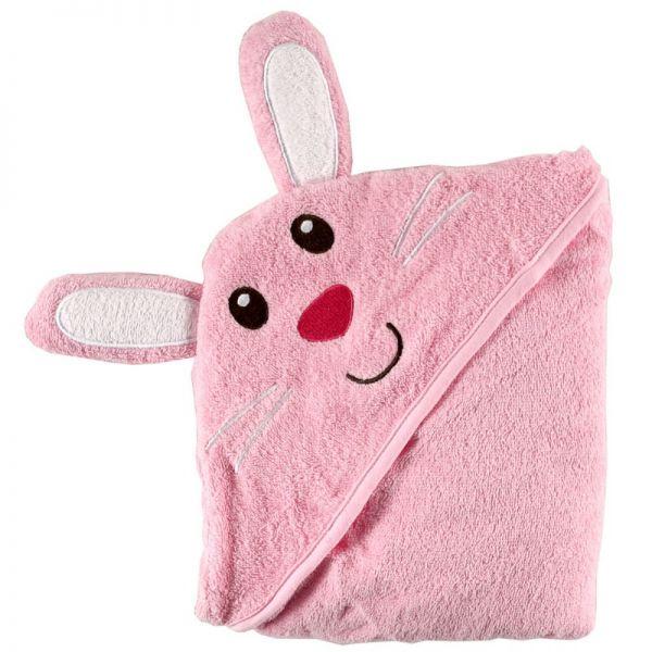 Полотенце с капюшоном 'Забавный зверёк' 05178/1 Luvable Friends