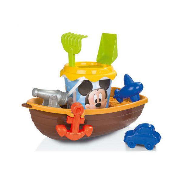 Лодка + набор для песка Mickey 69407 Smoby