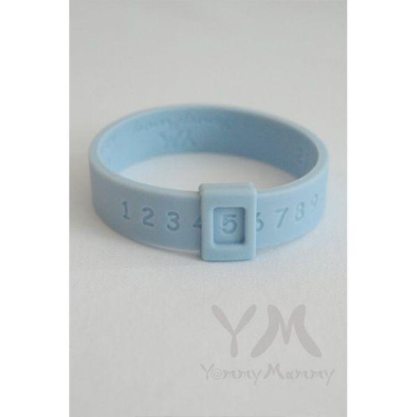 Молочный браслет голубой 403.0.2 Y@mmyMammy