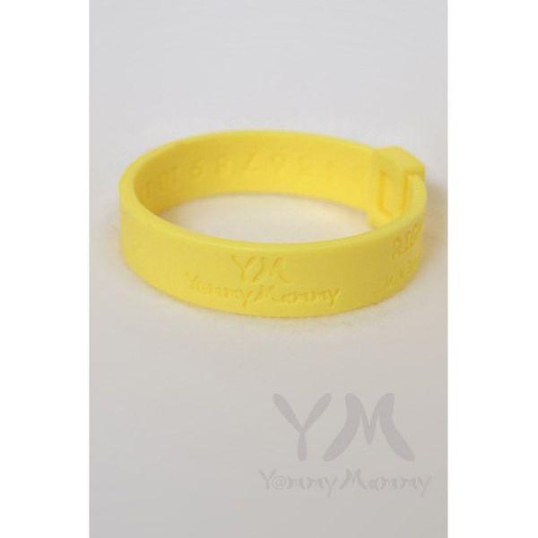 Молочный браслет желтый 403.0.3 Y@mmyMammy