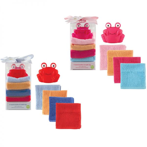 Подарочный набор Игрушка и 4 салфетки для купания 05459/2 Luvable Friends