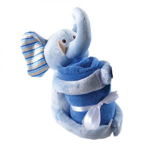 Плед и игрушка 50427/1 Hudson Baby