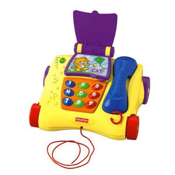 Телефон 5258T обучающий Серия Смейся и учись 1108996 Fisher Price (MATTEL)