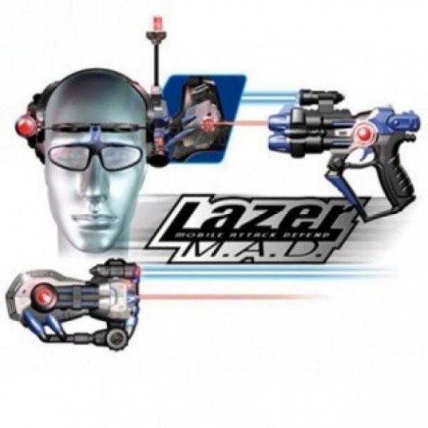 Набор Лазерная атака (2 шлема, 2 автомата) 86840                     Silverlit