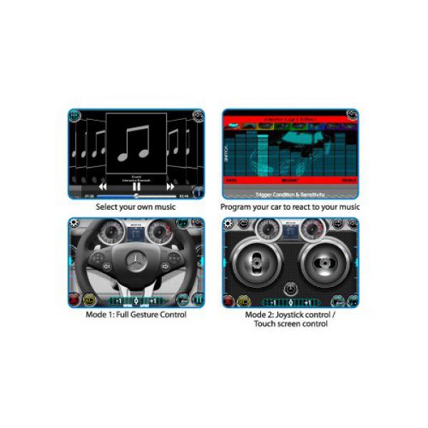 Машина Mercedes-Benz 1:16 с управлением от  iPhone/iPad/iPod через Bluetooth 86074                     Silverlit