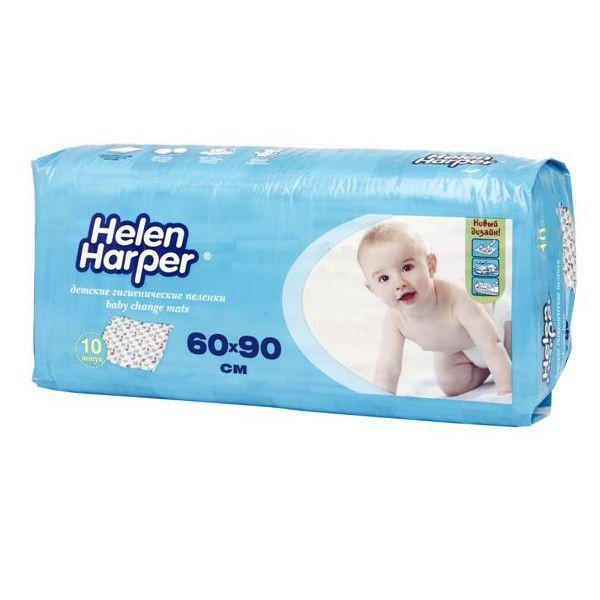 Helen Harper Детские впитывающие пеленки 60х90 10шт 96292093 Helen Harper