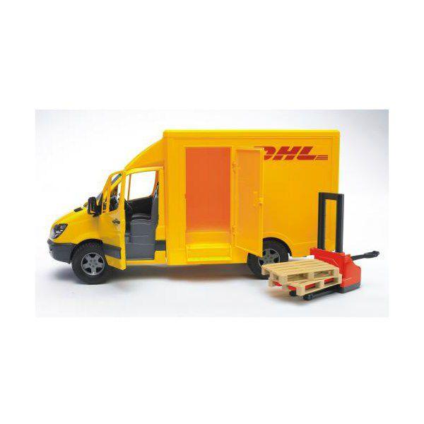 MB Sprinter фургон DHL с погрузчиком 02-534                    Bruder