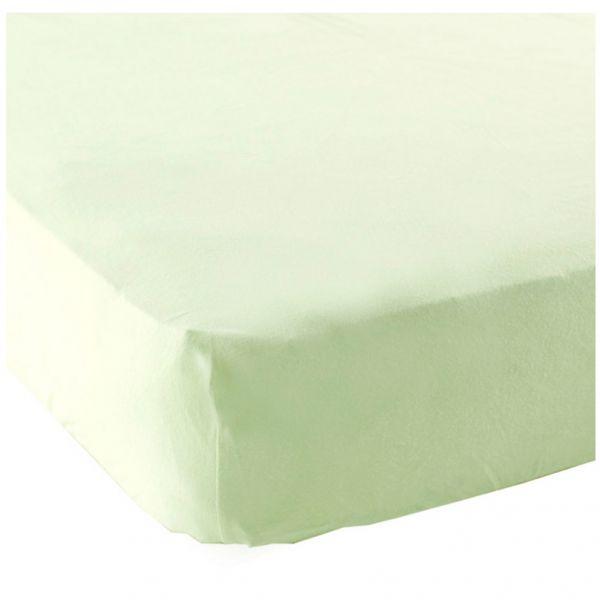 Простыня на резинке в кроватку 1шт. салатовый, 71х132см. 04117 Luvable Friends
