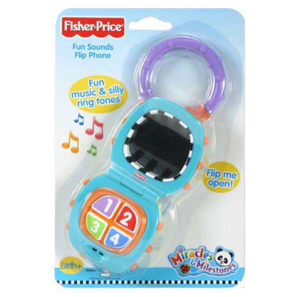 Игрушка 7189K Телефон музыкальный Fisher Price Фишер Прайс 1109104 Fisher Price (MATTEL)