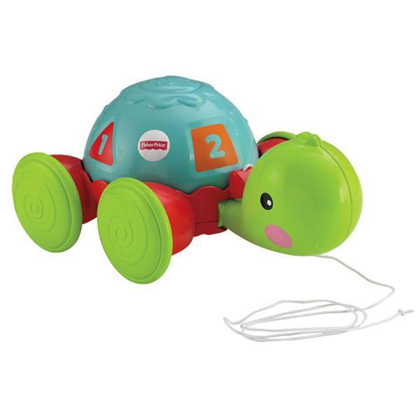Черепаха Y8652 обучающая на колесиках  Fisher-price Фишер Прайс 1130997 Fisher Price (MATTEL)
