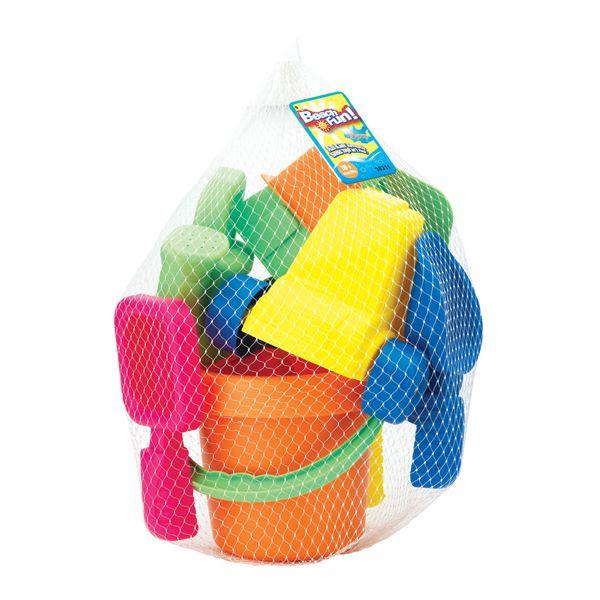 Набор : 15 игрушек для песочницы в сетке 30311/1 KEENWAY