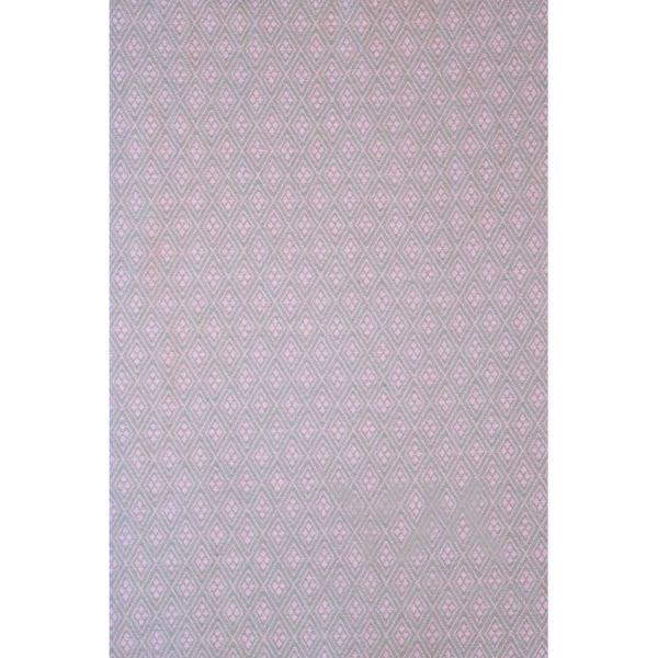 Слинг с кольцами из шарфовой ткани Amethyst (розовый/серый) с алюминиевыми кольцами 550.1.22-2 Y@mmyMammy