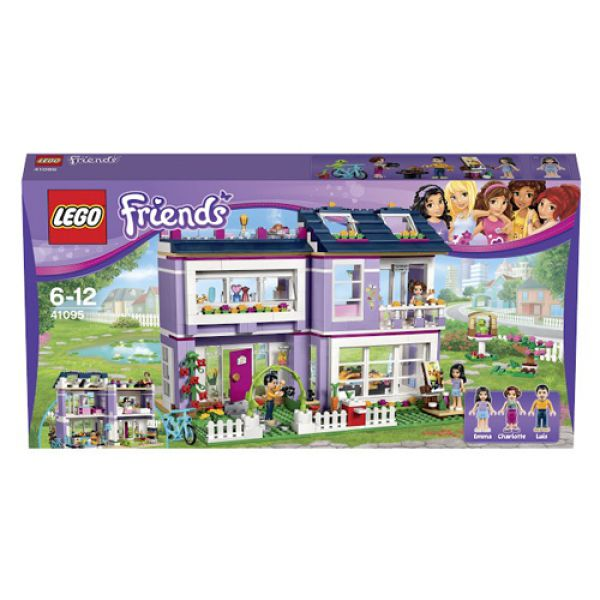 Конструктор Lego Friends 41095 Лего Подружки Дом Эммы 41095 Lego