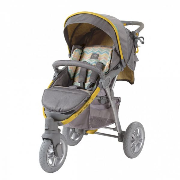 Коляска прогулочная Happy Baby Neon Sport NEW Арт. 2557NEW Blue 2557NEW/5 Happy Baby
