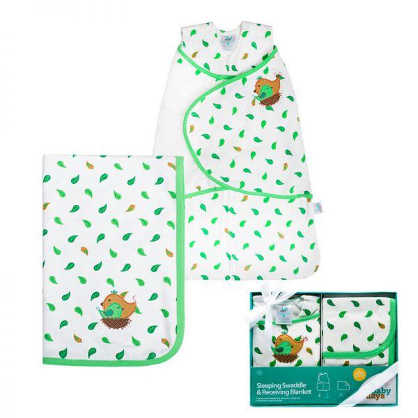 Подарочный набор Спальный конверт и пелёнка bd20002 babydays