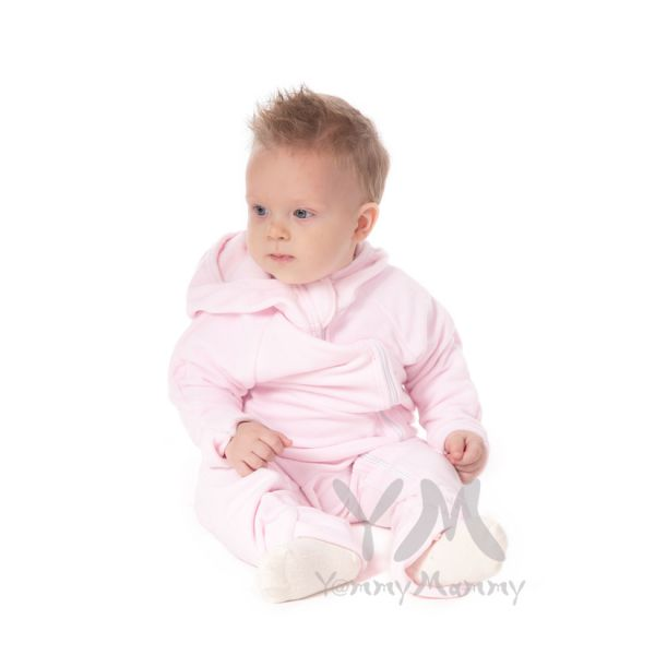 Слингокомбинезон из флиса светло-розовый 577.2.14 Y@mmyMammy