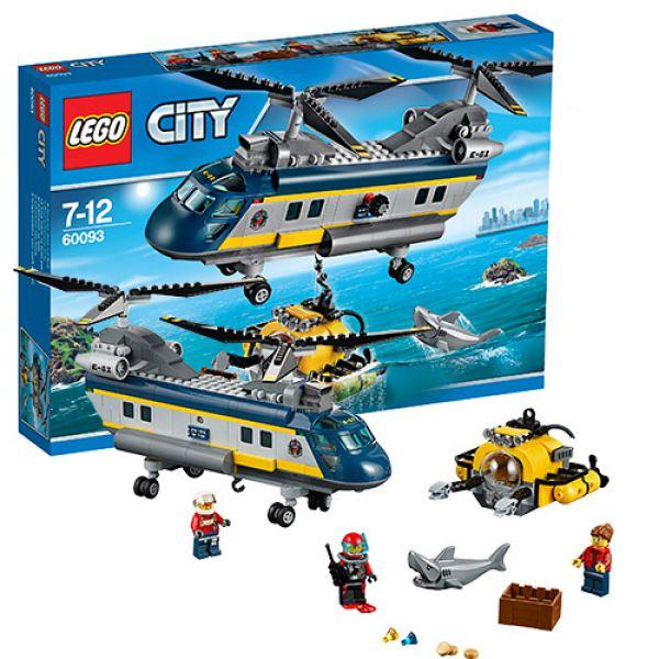 Конструктор Lego City 60093 Лего Город Исследовательский вертолет 60093 Lego