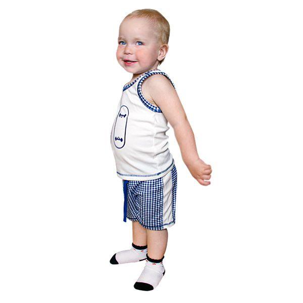 Комплект белья для мальчиков: шорты и майка 13-411 Lucky child