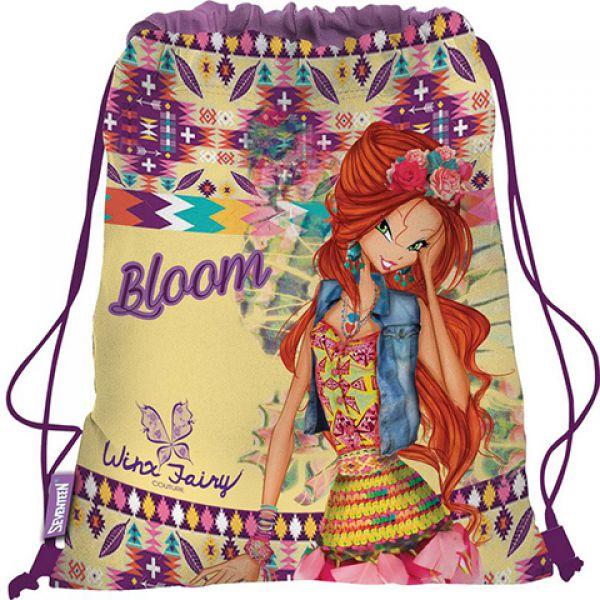 Сумка-рюкзак WXCB-UT1-883 для обуви. Winx Fairy Couture 1137321 КанцБизнес