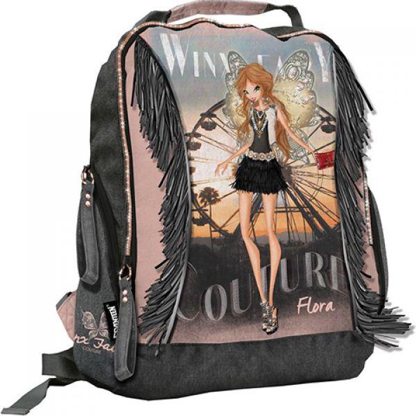 Рюкзак WXCB-UT2-705 на молнии размер 38х31х14 см.Winx Fairy Couture 1137322 КанцБизнес