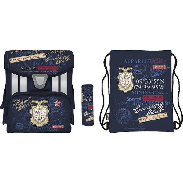 Набор школьника SKCB-UT3-138-SET31 (рюкзак, пенал, сумка-рюкзак для обуви) Seventeen Kids 1137223 КанцБизнес