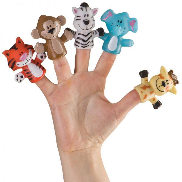 Игрушка (набор) Happy Baby для ванны на палец 'джунгли/сафари' Арт. 32010 32010 Happy Baby (игрушки)