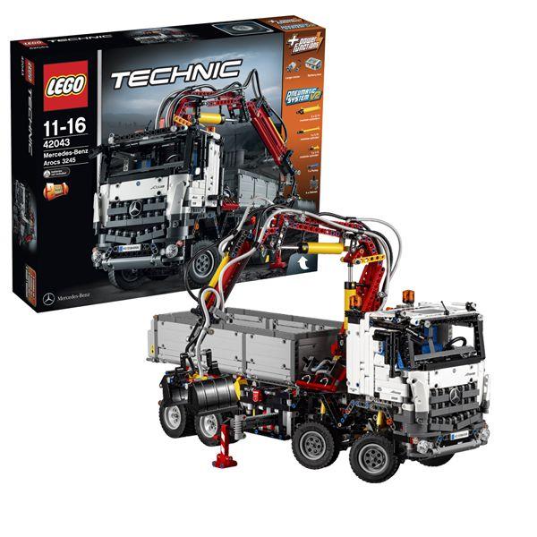Конструктор Lego Technic 42043 Лего Мерседес Бенц Арокс 3245 42043 Lego