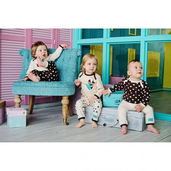 Комплект детский: 'Улитки' кофточка 3 шт 30-136 Lucky child