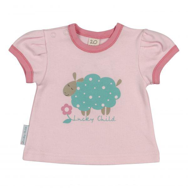 Комплект: футболки 3 шт. 'Овечки' 30-148 Lucky child