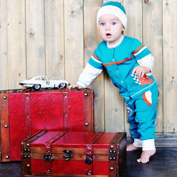 Кофточка футер'Формула 1' 21-8ф Lucky child