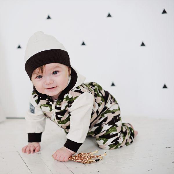 Куртка детская с капюшоном 'Вежливые люди' 31-17пф Lucky child