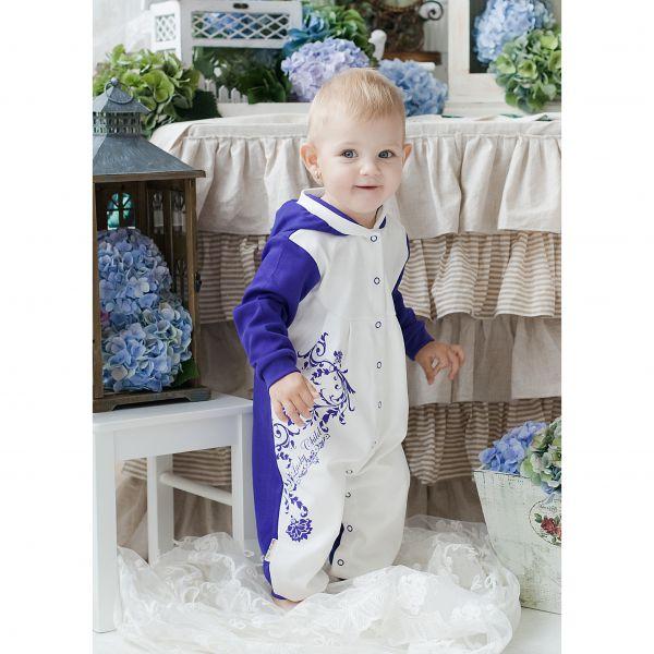 Комбинезон детский с капюшоном 'Нежность' 15-3 Lucky child