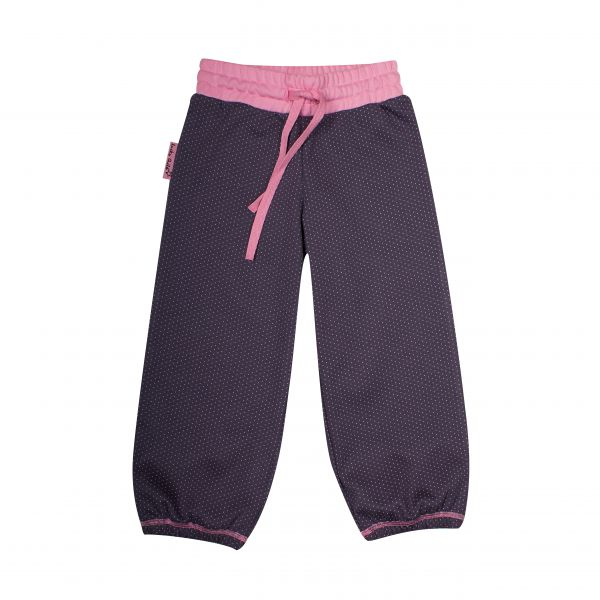 Пижама детская для девочек: кофточка и штанишки 12-401 Lucky child