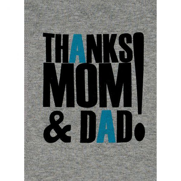 Боди 'спасибо маме и папе' 1-5М Lucky child