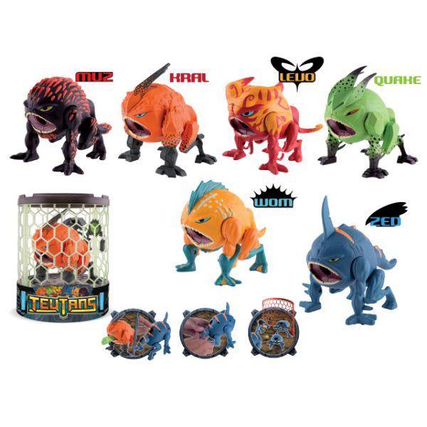 Фигурка 445000/17/24/31/48/55/62 Teutans в коробке IMC TOY 1132192 IMC toys