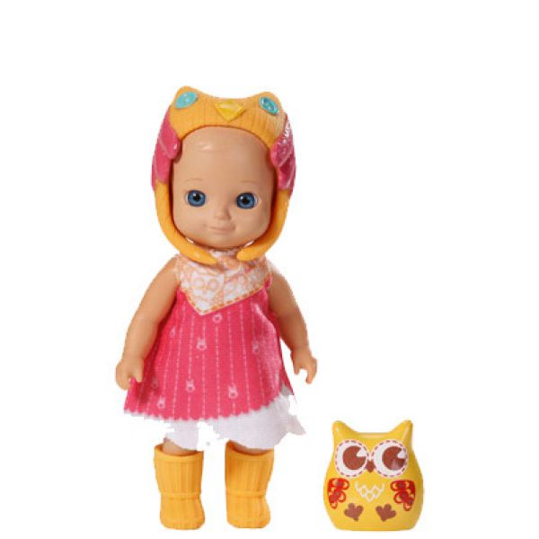 Кукла Zapf Creation Chou Chou 920-060 Мини-птичка Шу Шу 12 см, 2 волна, в асс-те 920-060/4 ZAPF